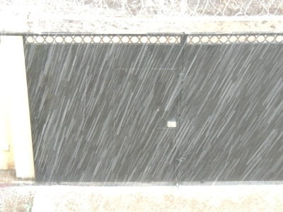 Oh, just a little hail storm...in AFRICA!